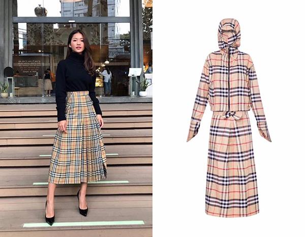 Nhiều bình luận dí dỏm so sánh, chiếc váy Khả Ngân đang mặc trông giống hệt... váy quấn chống nắng bán nhan nhản trên thị trường với giá chỉ khoảng 100k. Trong khi đó, thiết kế của Khả Ngân phải chi đến 1.250 USD (hơn 29 triệu đồng) để sắm về.