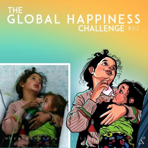Theo Morshed Mishu, những bức họa tuy không thay đổi được hiện thực đầy máu và nước mắt đã và đang diễn ra, nhưng nó là cách duy nhất anh có thể làm để cổ vũ cho tinh thần hòa bình và cầu nguyện cho những nạn nhân chiến tranhtrên toàn thế giới.