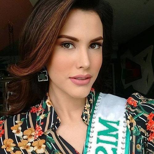Vẻ thiên thần của người đẹp 19 tuổi vừa đăng quang Hoa hậu Quốc tế 2018 - 6