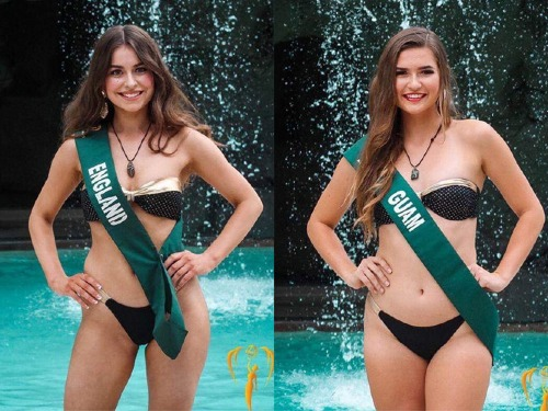 Sau Hoa hậu Canada, đại diện Anh và Guam lên tiếng tố cáo.