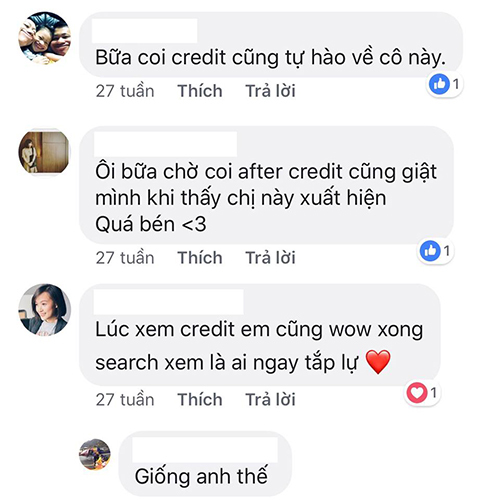 Phản ứng của khán giả khi thấy tên Việt Nam xuất hiện trong credits phim Marvel.