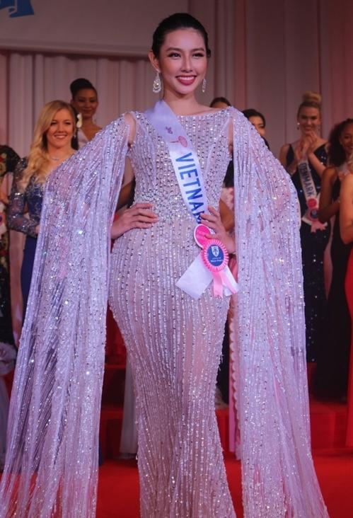 Thùy Tiên tại Miss International 2018