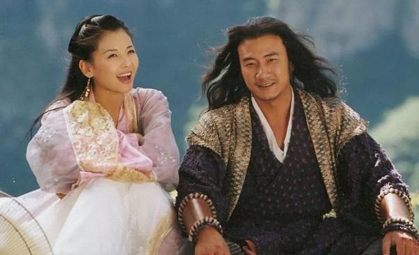Mối tình Kiều Phong - A Châu khiến nhiều khán giả xúc động.