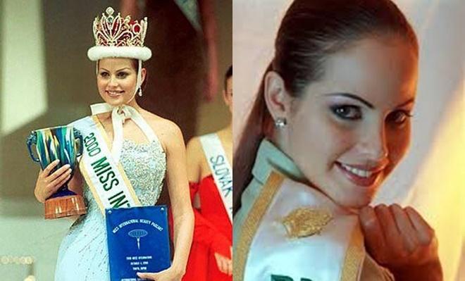 <p> <strong>Vivian Urdaneta - Hoa hậu Quốc tế 2000</strong><br /><br /> Vivian Urdaneta đăng quang năm 21 tuổi. Cô cao 1,78m, có mái tóc hung đỏ, đôi mắt xanh lá. Hiện tại, người đẹp sinh năm 1979 công tác trong lĩnh vực báo chí. Cuộc sống đời tư của cô khá kín tiếng.</p>