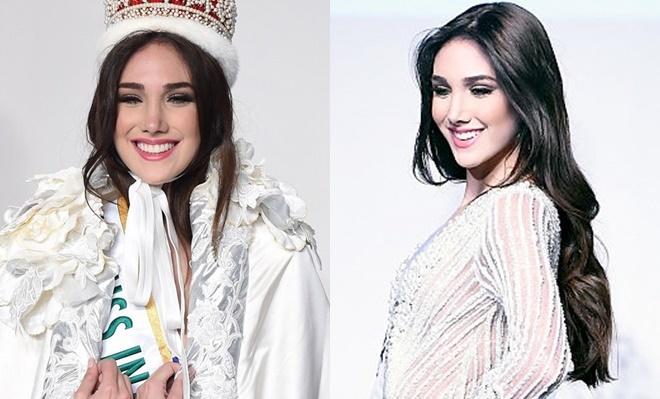 <p> <strong>Edymar Martínez - Hoa hậu Quốc tế 2015</strong><br /><br /> Sau Mariem Velazco, Edymar Martínez là đại diện gần đây nhất của Venezuela đăng quang Hoa hậu Quốc tế. Thời điểm đăng quang, cô tròn20 tuổi, cao 1,77m, số đo ba vòng 90-59-90. Với nhan sắc ngọt ngào, fan đánh giá Edymar là một trong những hoa hậu có khuôn mặt đẹp nhất lịch sử cuộc thi.</p>