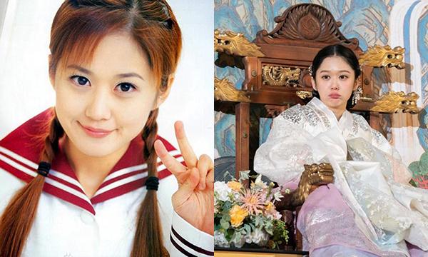 Jang Na Ra là một trong những nữ diễn viên có ngoại hình thách thức cùng thời gian. Diện mạo của cô từ lúc mới vào nghề (trái) và trong vai diễn mới nhất năm 2018 hoàn toàn không có gì thay đổi. Tính đến nay, Jang Na Ra đã vào showbiz được 18 năm, khi cô bắt đầu nổi tiếng vào năm 2000 trong các video quảng cáo.