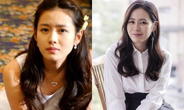 Son Ye Jin cũng là một trong những tượng đài nhan sắc của Hàn Quốc. Vào nghề từ năm 2000, đến nay ngoại hình của Son Ye Jin vẫn không có gì thay đổi. Dù đã đóng nhiều vai diễn với các hình tượng khác nhau thì cô vẫn khiến khán giả yêu thích bởi sự ngọt ngào có chút trong sáng. Son Ye Jin đã 36 tuổi nhưng cô vẫn là tình đầu trong mơ của rất nhiều người. Vai diễn đầu tay của Son Ye Jin làvai phụ trong phim của đạo diễn Park Ki Hyung là Secret Tears, cô gây ấn tượng mạnh cho khán giả với ngoại hình của mình.