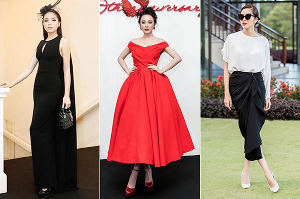 Dress code trong show Đỗ Mạnh Cường qua các năm 2016 - 2017 - 2018.