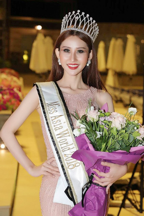 Hoa hậu Đại sứ Du lịch Thế giới - World Miss Tourism Ambassador 2018.
