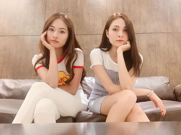 Chị em Lưu Hiền Trinh - Ngọc Duyên.