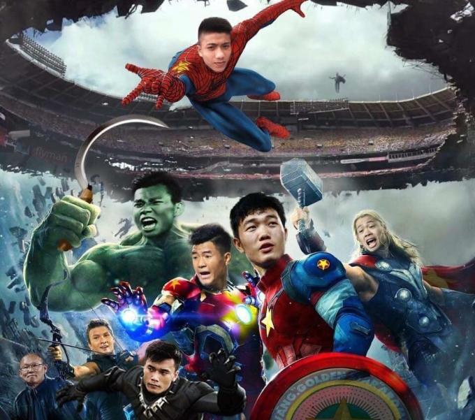 <p> Và các chàng trai của tuyển Việt Nam vẫn đang nhận được sự ủng hộ của fan.</p>