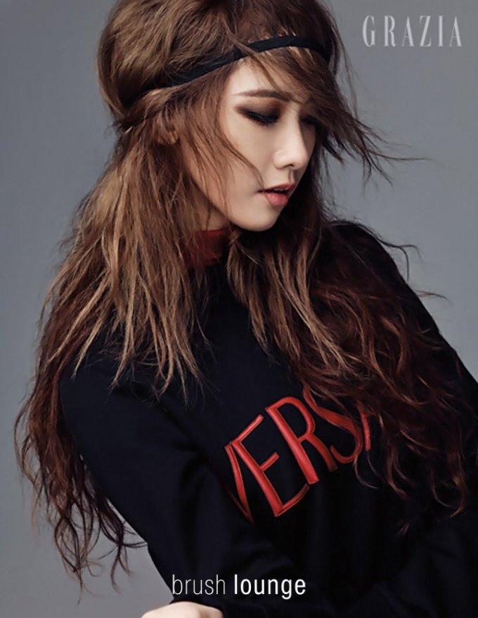 """<p> Nhan sắc của Yoon Ah không hổ danh là """"visual tường thành"""" của Kpop.</p>"""