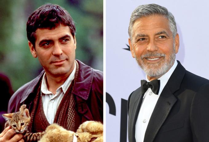 <p> George Clooney tuổi đôi mươi thời thập niên 80 đã đẹp trai rồi nhưng George Clooney những năm sau này lại càng đốn tim phái nữ hơn.</p>