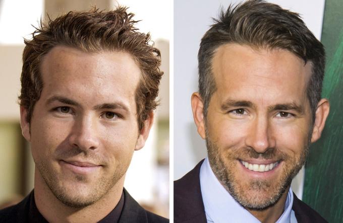 """<p> Bộ râu quai nón giúp tăng phần nam tính cho """"Deadpool"""" Ryan Reynolds.</p>"""