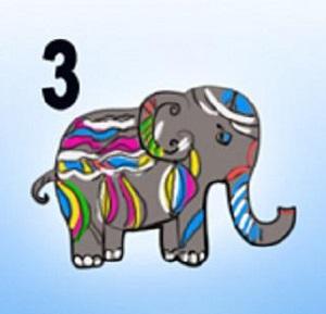 Trắc nghiệm: Chọn một chú voi sắc màu để khám phá tính cách của bạn - 2