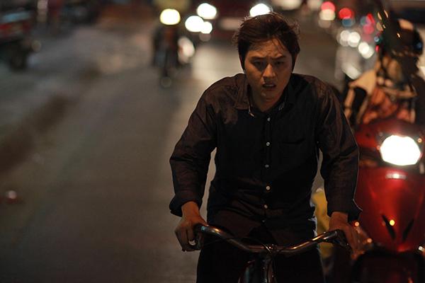 Thanh Duy nhớ lại một cảnh quay cực trong dự án điện ảnh Dream Man: Lời kết bạn chết chóc ra mắt gần đây.