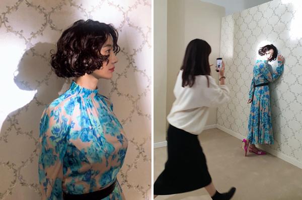 Đằng sau bức hình đầy nghệ thuật của Go Joon Hee là hậu trường