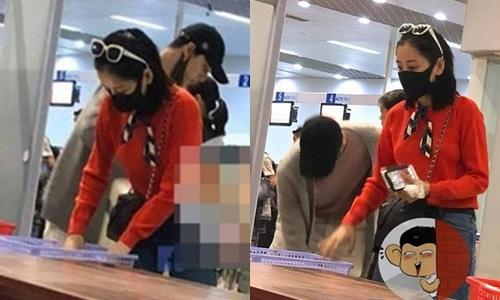 Tháng 3/2018, cả hai bị bắt gặp xuất hiện cùng nhau ở sân bay Đà Lạt. Dù bịt khẩu trang kín nhưng nhiều người vẫn nhận ra họ.