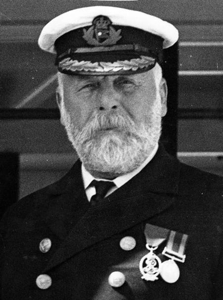 Chân dung của thuyền trưởng Edward John Smith, người cùng con tàu Titanic xấu số vĩnh viễn nằm dưới đáy đại dương.