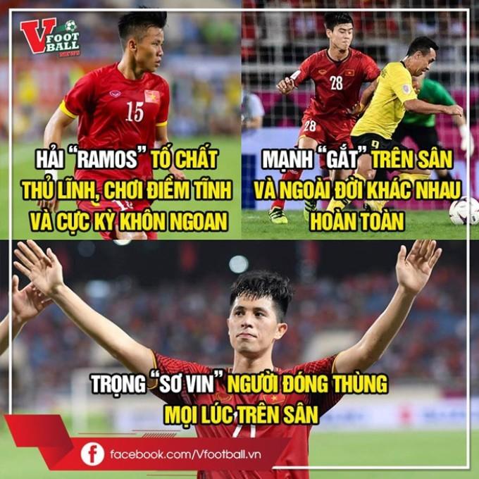 """<p> Các học trò của Park Hang-seo trong suốt 90 phút thi đấu đã tạo được nhiều cơ hội ăn bàn <a href=""""https://ione.net/tin-tuc/nhip-song/hong/bao-nuoc-ngoai-tranh-cai-ve-ban-thang-hut-cua-van-toan-3842233.html"""">nhưng không thể tận dụng</a> và <a href=""""https://ione.net/tin-tuc/nhip-song/hong/viet-nam-hoa-0-0-truoc-myanmar-vi-ban-thang-khong-duoc-cong-nhan-3842170.html"""">nhận kết quả hoà 0-0 </a>tối 20/11. Với kết quả này, đội tuyển Việt Nam đã không thể giành trọn 3 điểm trước Myanmar tại lượt trận bốn bảng A - AFF Cup 2018. Bên cạnh sự tỏa sáng của Công Phượng, Văn Toàn hay Văn Đức, bộ ba hậu vệ Trần Đình Trọng, Quế Ngọc Hải, Đỗ Duy Mạnh cũng thể hiện phong độ tốt khi chơi chắc chắn ở hàng phòng ngự. Mỗi người một dấu ấn, tính cách và nét cá tính riêng biệt. Người hâm mộ đặt riêng cho họ những biệt danh 'bá đạo'.</p>"""