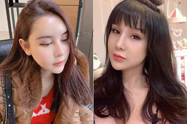 Tuy nhiên nhiều ý kiến cho rằng việc chỉnh sửa gương mặt khiến những đường nét của Hà Lade trở nên giống hệt cô bạn thân Diệp Lâm Anh. Ở cùng góc mặt, cả hai trông chẳng khác gì sinh đôi. Trước đó, Diệp Lâm Anh cũng bị nghi ngờ sang Hàn Quốc dao kéo nhưng không thừa nhận.