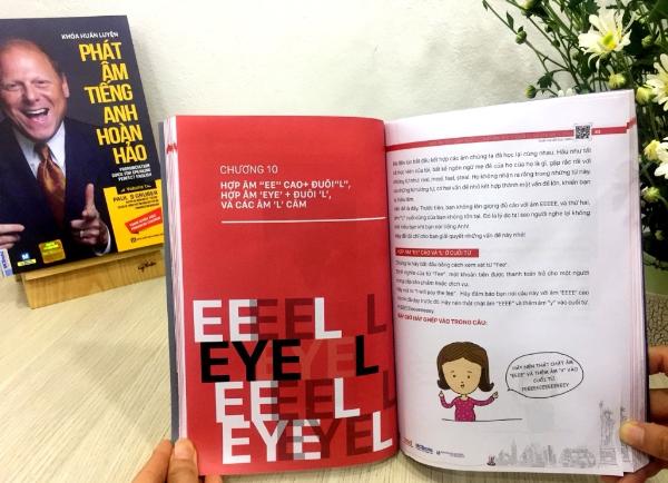 Cuốn sách Phát âm tiếng Anh hoàn hảo giúp nhiều học viên Việt Nam giao tiếp thành thục như người bản xứ.