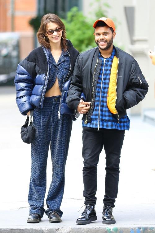 Ảnh Bella và Abel tại New York cuối tháng 10/2018.