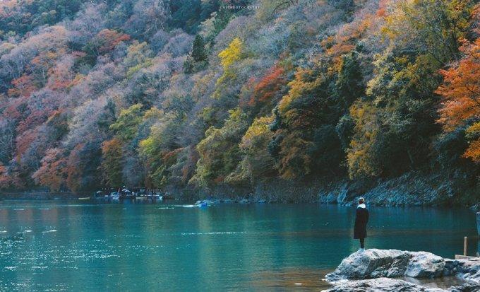'Đi tìm mùa thu' ở xứ sở hoa anh đào