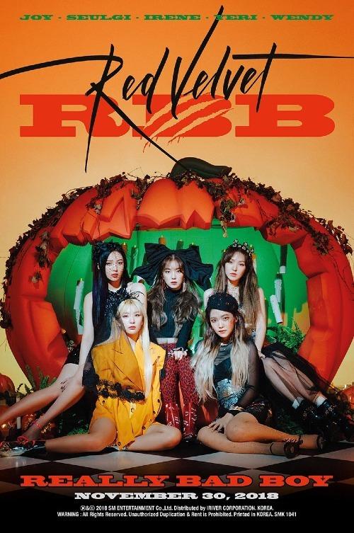 Irene và Red Velvet sẽ chính thức trở lại đường đua Kpop vào ngày 30/11 sắp tới.