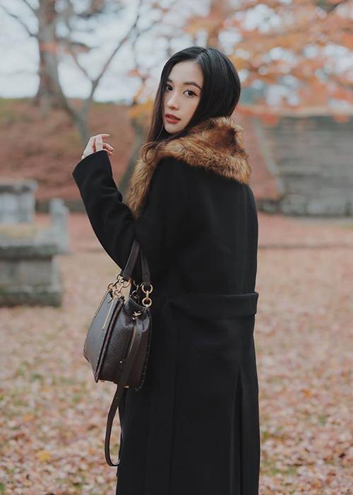 Jun Vũ đẹp mơ màng trong ngày đông Seoul.