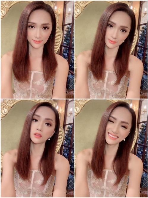 Hương Giang lộ thân hình gầy trơ xương khi diện đầm cúp ngực trong buổi ghi hình chương trình truyền hình.