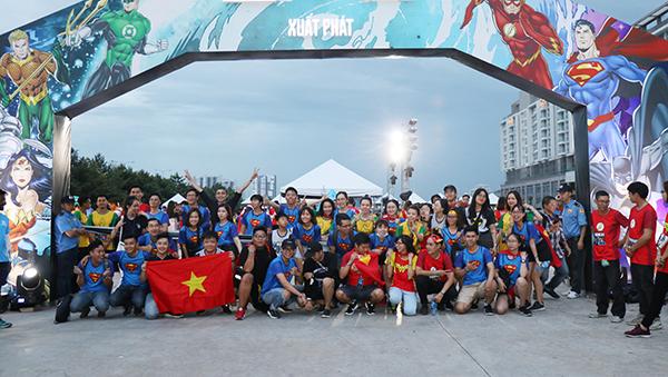 Sự kiện chạy bộ Justice League Night Run 2018 lần đầu tiên được tổ chức tại Việt Nam diễn ra vào ngày 24/11 tại TP HCM. Đây là giải chạy được khởi xướng và sở hữu bởi DC Entertainment, cái nôi của biểu tượng đại chúng Justice League - Liên Minh Công Lý bao gồm 7 siêu anh hùng Superman, Batman, Wonder Woman, The Flash, Cyborg, Green Lantern và Aquaman.