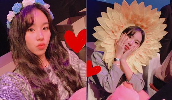Chae Young (Twice) đáng yêu với những phụ kiện xì tin trong buổi fansign.