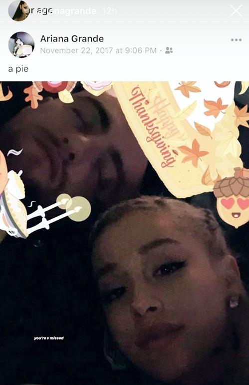 Bức ảnh cũ của Ariana và Miller gây chú ý.
