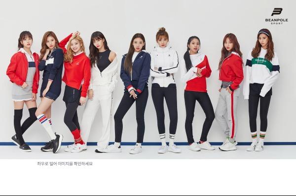 Twice đóng quảng cáo cũng phân chia hình ảnh đồng đều.