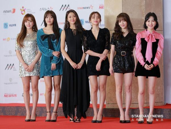 Nhóm nhạc AOA của FNC Entertainment.
