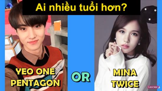Fan Kpop thử tài đoán idol lớn tuổi hơn? - 5