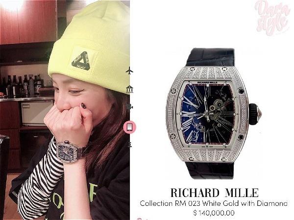 Dara đeo đồng hồ khủng hơn 3 tỷ, netizen thi nhau hỏi tiền đâu mà mua?