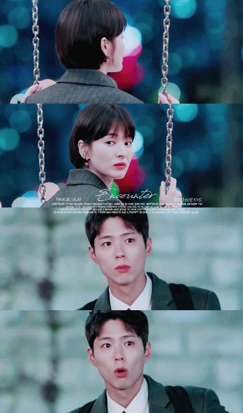 Biểu cảm dễ thươngcủa Jin Hyuk trong lúcnhìn trộm Soo Hyun.