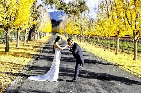 Ảnh cưới lần hai thơ mộng của Tuấn Hưng.
