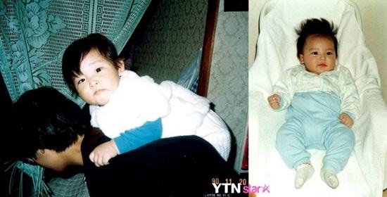 Thuở baby siêu dễ thương này là idol Hàn nào? - 9