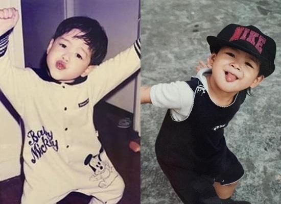 Thuở baby siêu dễ thương này là idol Hàn nào? - 8