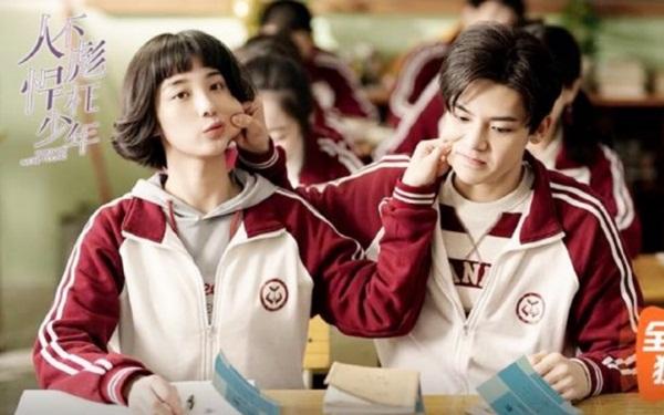 Cặp nam nữ chính đáng yêu trong phim.