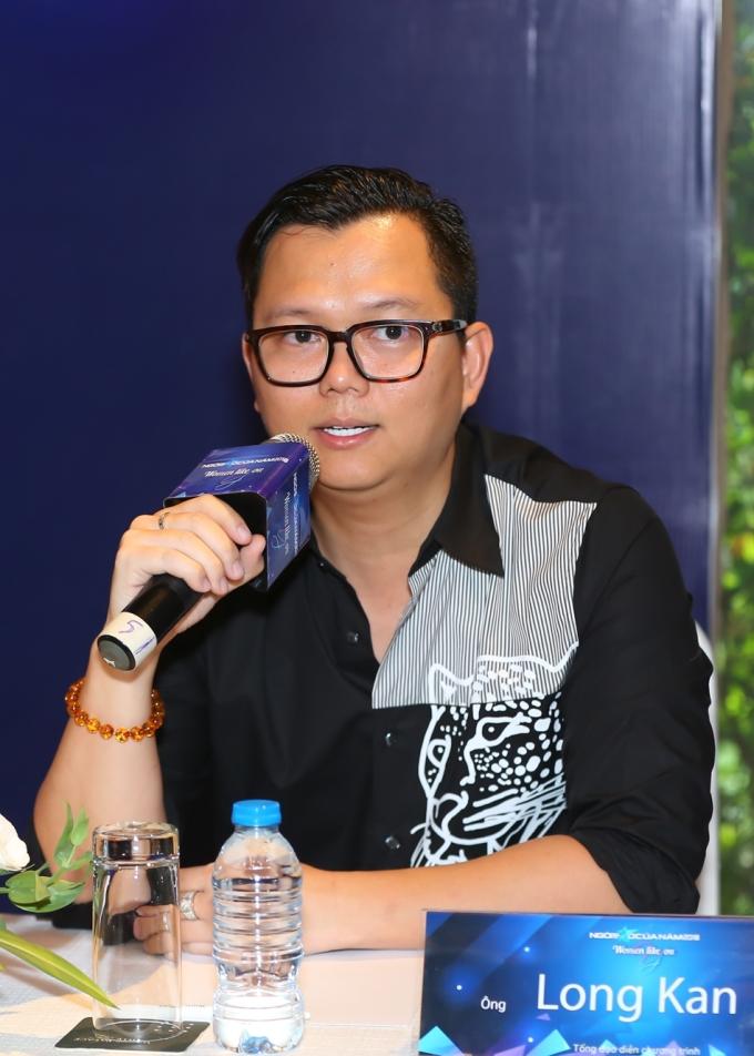 <p> Đạo diễn Long Kan tiết lộ một số điểm nhấn của chương trình gala như các khách mời phần lớn là nghệ sĩ nam, sân khấu sẽ sử dụng vật phẩm tái chế và công nghệ.</p>