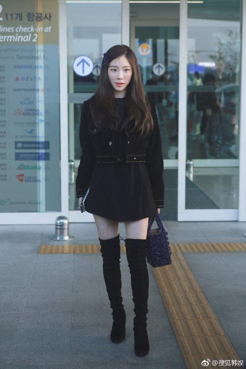 Dù bé nhỏ, nhưng vóc dáng nuột nà của Tae Yeon vẫn khiến fan ngưỡng mộ