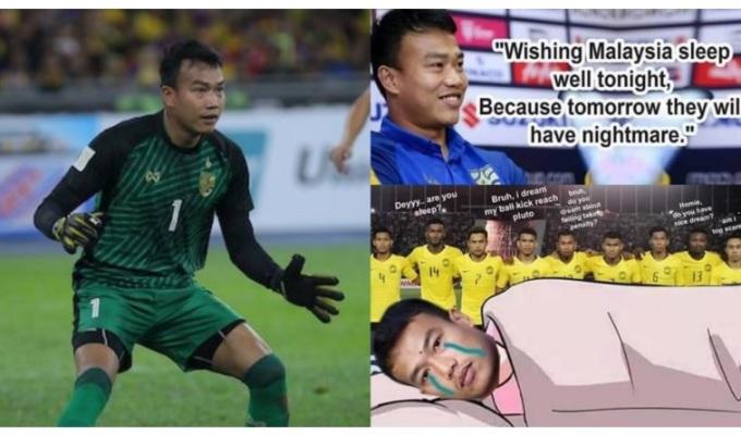 <p> Chúc đối thủ Malaysia ngủ ngon và giờ Thái Lan về ngủ sớm.</p>