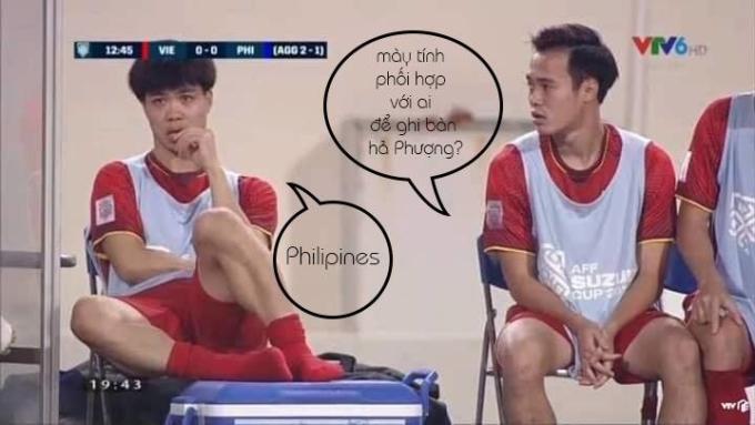 <p> Hôm nay chỉ có một người duy nhất bị lừa... là hậu vệ của đối thủ Philippines.</p>