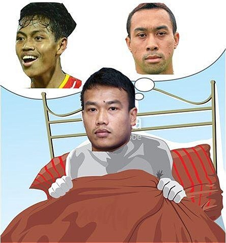 Các CĐV còn thi nhau chế ảnh với chia sẻ Ngủ ngon nhé Chatchai.
