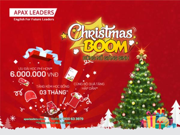 Chương trình ưu đãi hấp dẫn dịp Giáng Sinh trong tháng 12.
