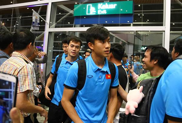 Các cầu thủ sẽ nghỉ ngơi trước khi ra sân tập luyện để chuẩn bị cho trận chung kết lượt đi sẽ diễn ra trên sân Bukit Jalil ngày 11/12. Trận chung kết lượt về vàongày 15/12 ở Mỹ Đình.